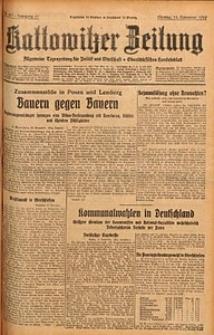 Kattowitzer Zeitung, 1929, Jg. 61, nr267