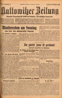Kattowitzer Zeitung, 1929, Jg. 61, nr279