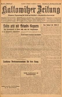 Kattowitzer Zeitung, 1929, Jg. 61, nr300