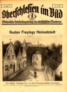 Oberschlesien im Bild, 1933, nr 20