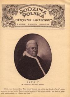 Rodzina Polska : miesięcznik ilustrowany, 1928, R.2, Nr 8 - sierpień