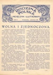 Rodzina Polska : miesięcznik ilustrowany, 1928, R.2, Nr 11 - listopad