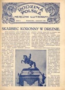 Rodzina Polska : miesięcznik ilustrowany, 1928, R.2, Nr 12 - grudzień