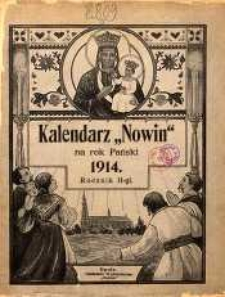 "Kalendarz ""Nowin"" na Rok 1914. R. 2."