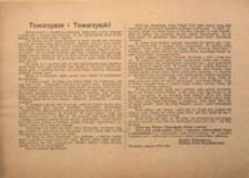 Towarzysze i Towarzyszki! Warszawa, sierpień 1915 r. Komitet Wykonawczy Polskiej Partii Socjalistycznej