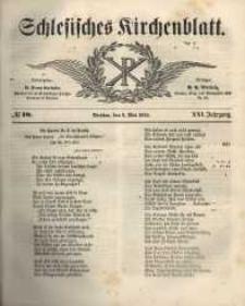 Schlesisches Kirchenblatt, 1855, Jg. 21, nr 18