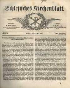 Schlesisches Kirchenblatt, 1855, Jg. 21, nr 19