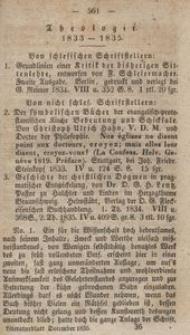 Literaturblatt von und für Schlesien, 1835, Theologie (12. Stück)
