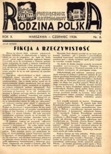 Rodzina Polska : miesięcznik ilustrowany, 1936, R.10, Nr 6 - czerwiec