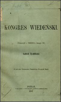 Kongres wiedeński