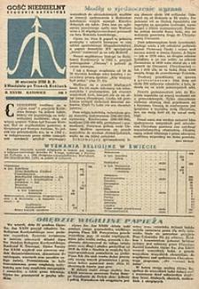 Gość Niedzielny, 1959, R. 28, nr3