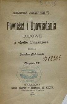 Powieści i Opowiadania ludowe z okolic Przasnysza. Cz. 2