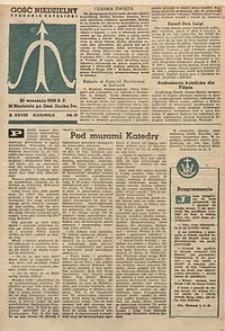 Gość Niedzielny, 1959, R. 28, nr38