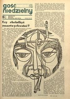 Gość Niedzielny, 1976, R. 49, nr16