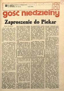 Gość Niedzielny, 1976, R. 49, nr22