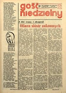 Gość Niedzielny, 1976, R. 49, nr37