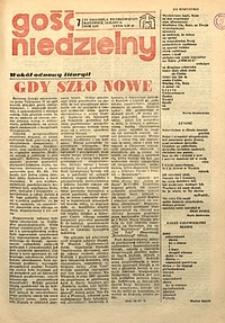 Gość Niedzielny, 1977, R. 54, nr7