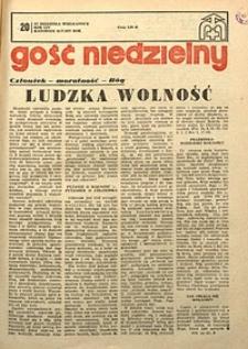 Gość Niedzielny, 1977, R. 54, nr20