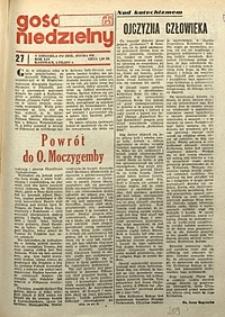 Gość Niedzielny, 1977, R. 50, nr27