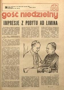 Gość Niedzielny, 1977, R. 54, nr36