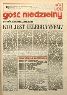 Gość Niedzielny, 1977, R. 54, nr45