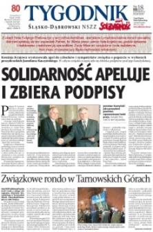 Tygodnik Śląsko-Dąbrowski, 2010, nr18