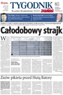 Tygodnik Śląsko-Dąbrowski, 2011, nr33