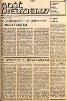 Gość Niedzielny, 1983, R. 60, nr23