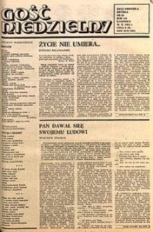 Gość Niedzielny, 1983, R. 60, nr44