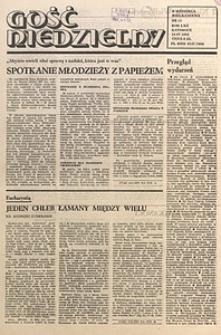 Gość Niedzielny, 1985, R. 58, nr15