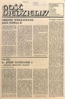 Gość Niedzielny, 1985, R. 58, nr16