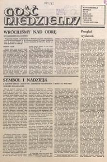 Gość Niedzielny, 1985, R. 58, nr39