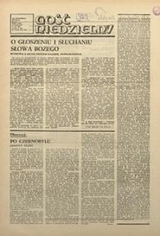 Gość Niedzielny, 1986, R. 63, nr25