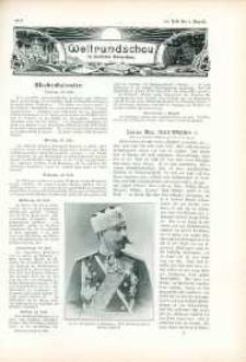 Weltrundschau zu Reclams Universum 1903, nr [30].