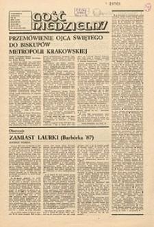 Gość Niedzielny, 1987, R. 64, nr48