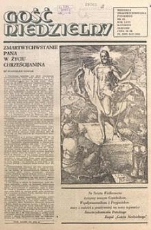 Gość Niedzielny, 1989, R. 66, nr13