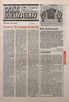 Gość Niedzielny, 1993, R. 70, nr10