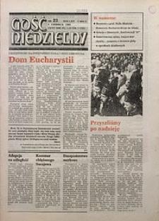 Gość Niedzielny, 1993, R. 70, nr23