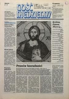 Gość Niedzielny, 1993, R. 70, nr47