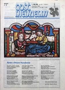 Gość Niedzielny, 1993, R. 70, nr51/52