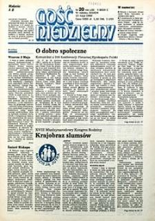 Gość Niedzielny, 1994, R. 67, nr20