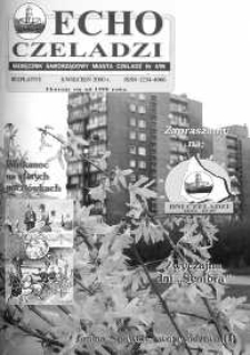 Echo Czeladzi Nr 4/95 kwiecień 2000
