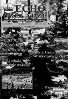 Echo Czeladzi Nr 9/111 wrzesień 2001