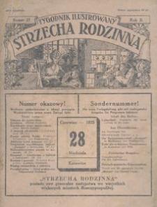 """Tygodnik Ilustrowany """"Strzecha Rodzinna"""", 1925, R. 2, nr 21"""