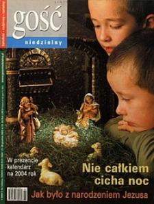 Gość Niedzielny, 2003, R. 76, nr51/52