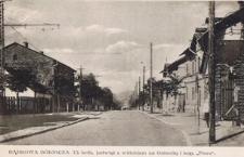 Dąbrowa Górnicza, ul. król. Jadwigi z widokiem na Gołonóg i kop. Flora