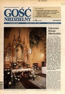 Gość Niedzielny, 1999, R. 76, nr15