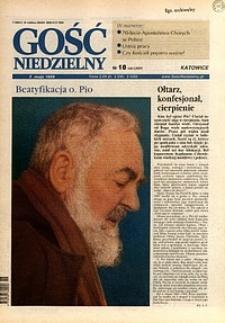 Gość Niedzielny, 1999, R. 72, nr18