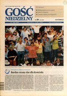 Gość Niedzielny, 1999, R. 72, nr21