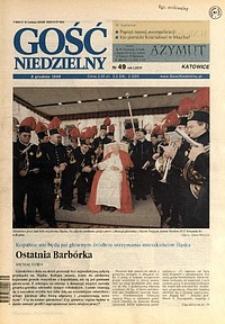 Gość Niedzielny, 1999, R. 76, nr49
